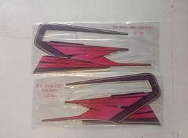 Striping RX King 1995 merah