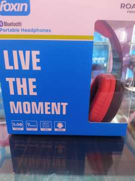 Foxin bluetooth headphone