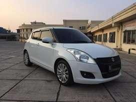 Pajak Panjang Bulan 9!! Suzuki Swift 1.4 GX 2013 AT Matic Putih