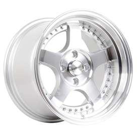 jual velg mobil original hsr wheel ring 15 untuk avega city baleno