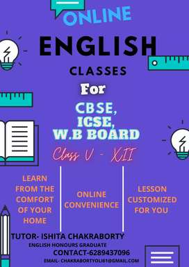 ONLINE ENGLISH LEARNING -- CLASS V -XII