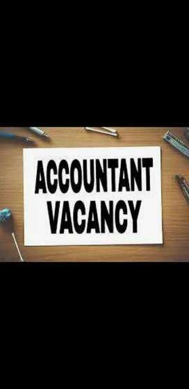Need female experience Tally accountant