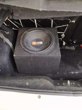 JBL sub woofer with Sony Amplifier
