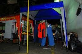 Tenda cafe via pake dan bayar di tempat