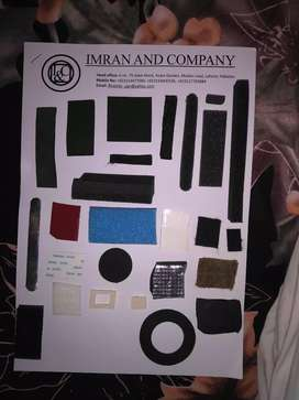 PU foam products, Rubber products, Eva products, epdm products etc