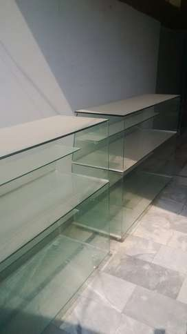 L Shape Mirror Counter in 4 Peices