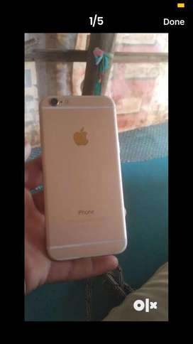 Iphone 6 new condition single handad juic one year old