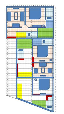 5.5 Marla Plot for sale in Green Town. GAS, Electricity, Water