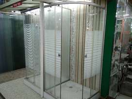 shower box kamar mandi kaca tempered glass