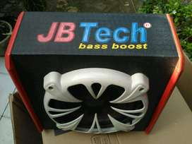 soobwofer bass boost merk JB Tech bonus sarung stir