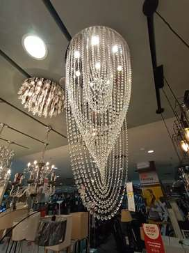 KREDIT CEILING LAMP STAINLESS GU10 CLEAR 88103