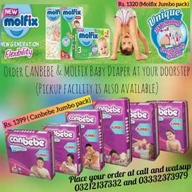 MOLFIX & CANBEBE DIAPERS