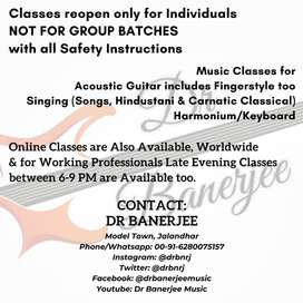 Music Classes near Model Town