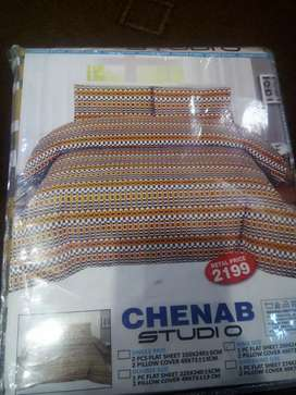 Branded bed sheets
