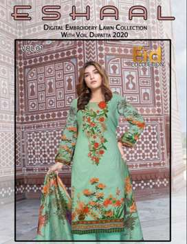 Lawn Summer Eid collection wholesale only