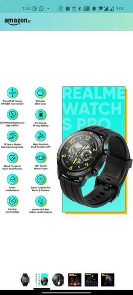 Realme Watch S Pro available for sale