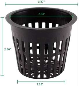 Rs 15 / Cup Hydroponics 3 Inch Net Cups Slotted Mesh Heavy Duty Basket