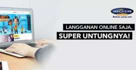 Berlangganan murah jernih parabola Indovision Mnc Vision Banda Aceh