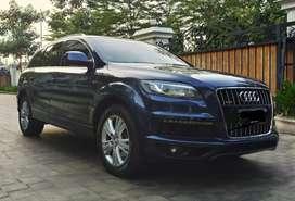 Audi Q7 3.0 tahun 2013 register 2014 kondisi bagus, hanya 400jt
