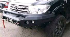 bumper fortuner model rocker