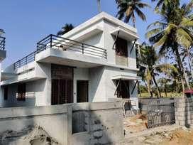 Villa4.2cent/1300 SqFt/3 bhk/45 lakh/ Olari, chettupuzhaThrissur