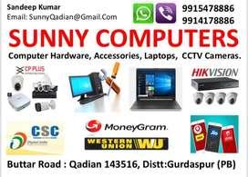 Computers, Laptops, CCTV Cameras