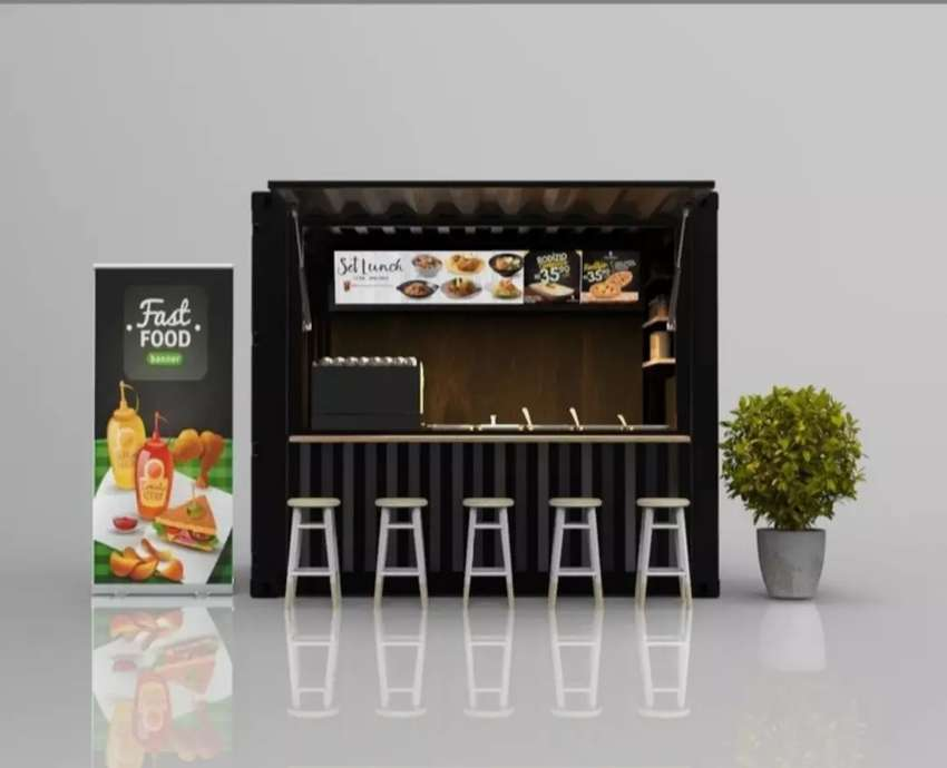 Booth Stand Container / Stand 0