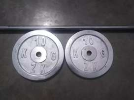 Chest rod and crome plates