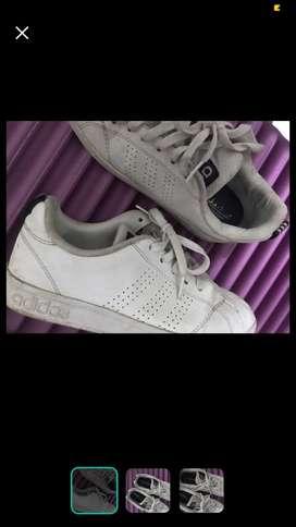 adidas neo putih ori