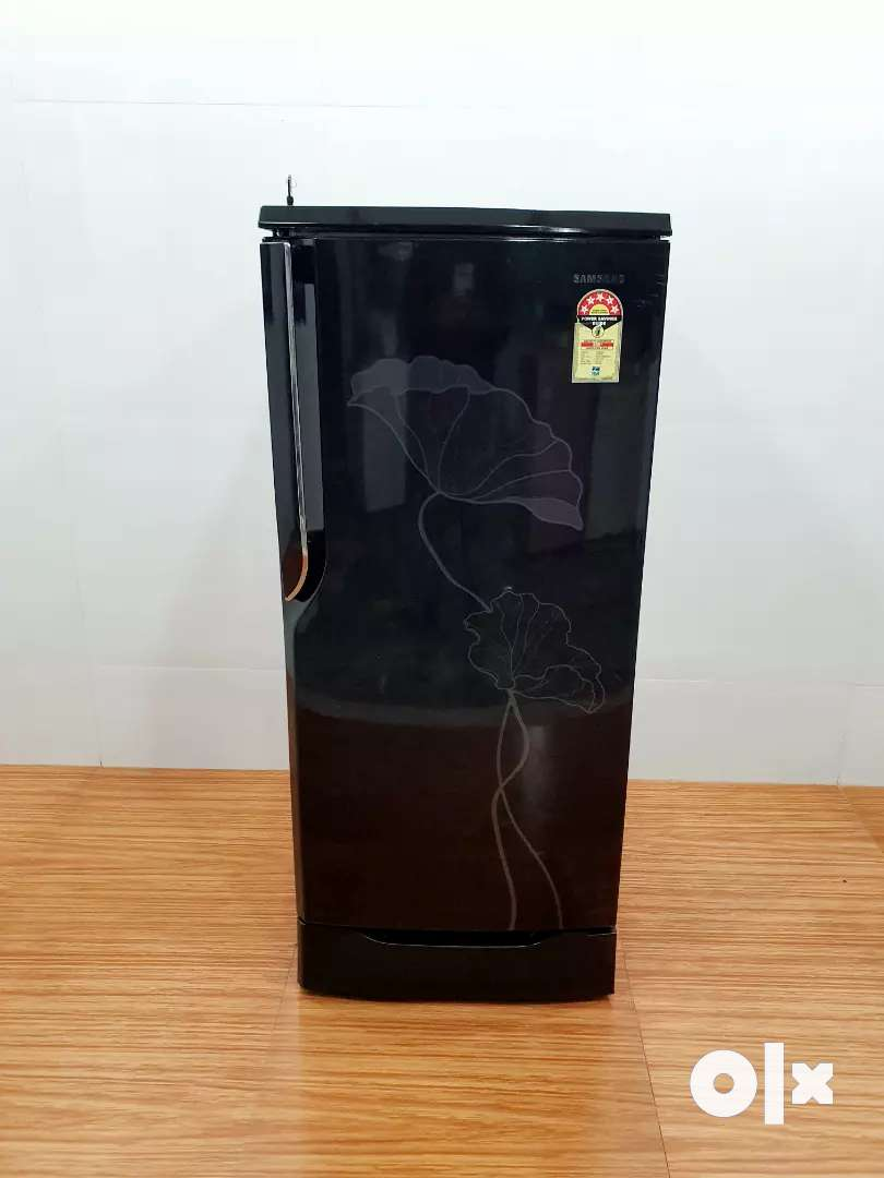 Samsung 5 star rating flower design single door 195 litre refrigerator 0