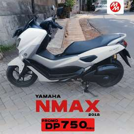 DP CUMA 750RB YAMAHA NMAX 155VVA TAHUN 2018 BISA CASH AND CREDIT