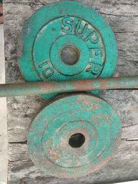 Lifting rod + weights