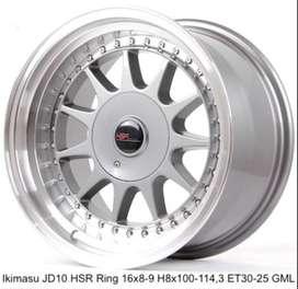 Velg selasa IKIMASU JD10 HSR R17X8/9 H8X100-114,3 ET42/35 GML