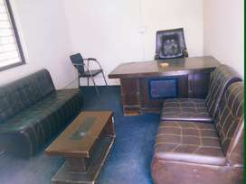 Furnished office available for rent at Main Mansehra road supply