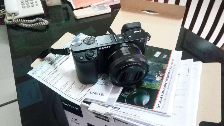 Camera Sony alfa 6000 0