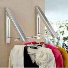 Gantungan Baju Besi / Multifunction clother Hanger Hiden type