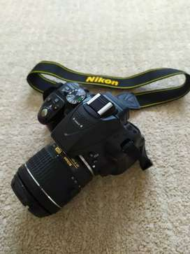 Nikon 5300D camera complete box for sale