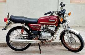 Yamaha RX 100 Japan engine