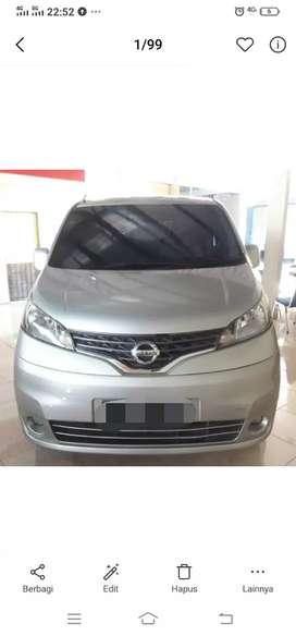 Nissan EVALIA SV Manual 2014 Silver.Bs utk GrabCar. Dp Ceper,Minat WA.