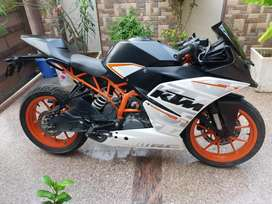 KTM RC 390 , new condition , well maintained