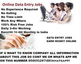 Earn Good Income With Typing Work