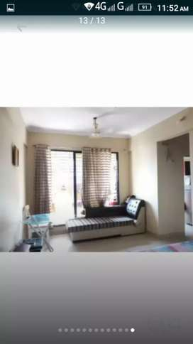 1 bhk fully furnished flat rent 10000 in kalyan west