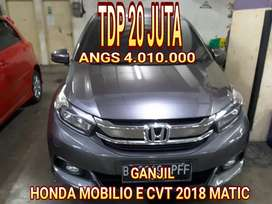 Honda mobilio E cvt 2018 matic gress tdp 20 jt angs 4 jt an cpt dpt