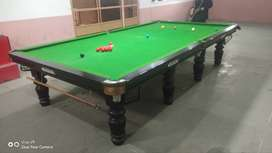 Snooker Table 12/6 (Steel Borders)