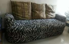 Backless Sofa 3 seater