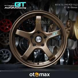 Velg Mobil Advan Racing GT (N1033) Ring 17 Bronze