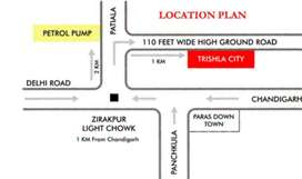 4 BHK for Rent in Trishla City