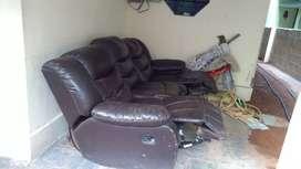 Three seater reclainer sofa