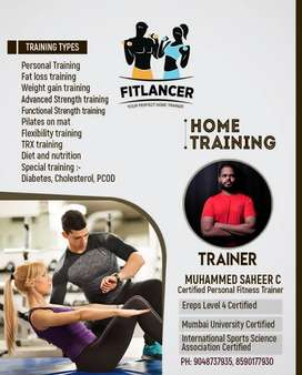 Personal training at your home