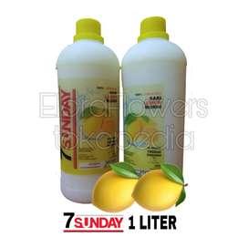 Sari Lemon 7Sunday 1 Liter/Diet/Langsing/Sehat